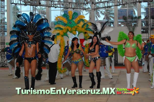 Encuentro De Comparsas, Batucadas y Bastoneras Del Carnaval De Veracruz 2013