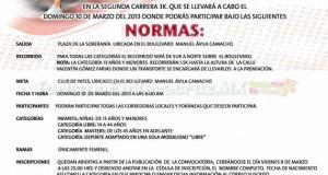 Invita Ayuntamiento de Veracruz a participar en la Carrera 3k femenil
