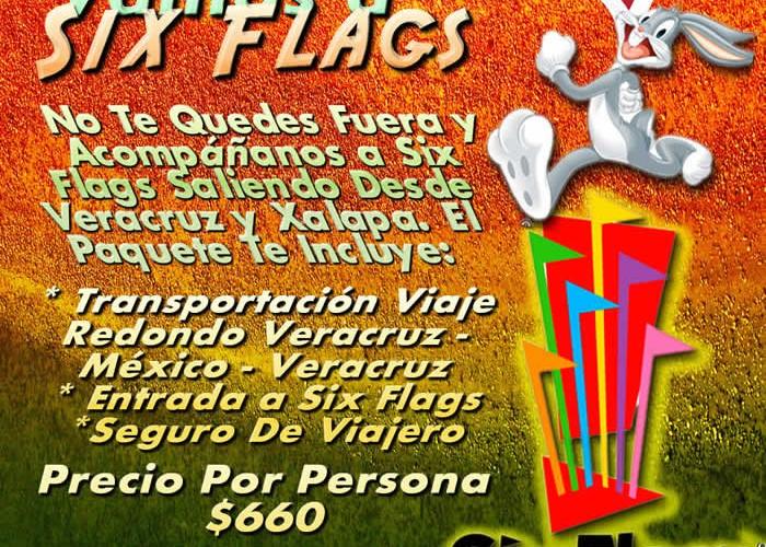 Six Flags Te Espera Este 19 De Mayo 2013 Saliendo De Veracruz y Xalapa
