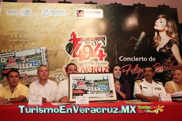 El puerto de Veracruz, listo para celebrar 494 años de su fundación