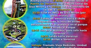 Viaja a El Rollo Este 7 De Julio Saliendo De Veracruz y Xalapa