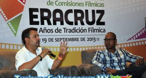 Participa producción de El Americano en la Reunión de Comisiones Fílmicas, en Veracruz