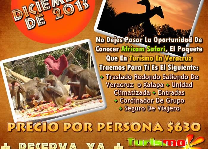 Vamos a Africam Safari Este 8 De Diciembre 2013 Saliendo De Veracruz y Xalapa