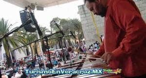 Ofrece IVEC velada con marimba y percusiones en Casa Principal
