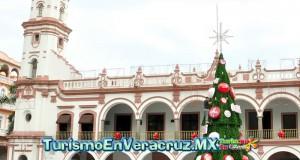 Invita Ayuntamiento de Veracruz al tradicional encendido del árbol navideño en el Zócalo de la Ciudad