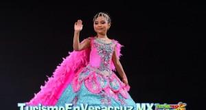 Espectacular coronación de Reyes Infantiles del Carnaval Veracruz 2014