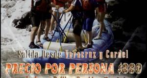 Vamos a Los Rápidos De Jalcomulco Este 18 De Mayo 2014
