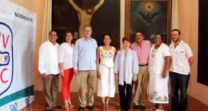 Entrega IVEC patrimonio cultural restaurado al Ayuntamiento de Tlacotalpan