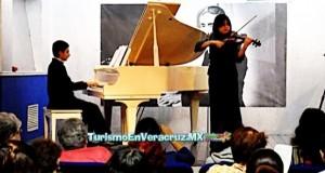 Juventud larista, recital de violín y piano en homenaje al Flaco de Oro