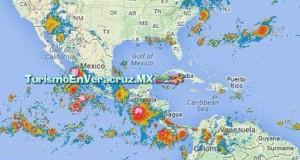 Tiempo favorable para lluvias aisladas en las próximas 24 a 48 horas en la entidad