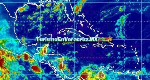 Temperatura diurna alta y probables lluvias por la tarde en el Estado de Veracruz