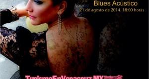 Presenta IVEC a Tere Estrada en Concierto y Taller de Voz en Veracruz