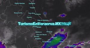 Ambiente cálido en norte y centro del estado; nublados en el sur de Veracruz