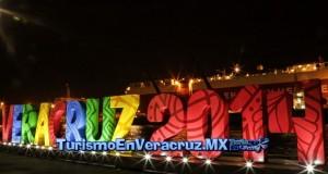 Luz y color dan la bienvenida a Veracruz