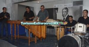 Entusiasta participación durante Encuentro de Marimbas, en Casa Museo Agustín Lara