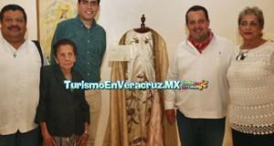 En Tlacotalpan, inauguraron exposición de vestidos de la Virgen
