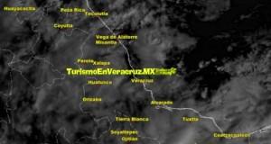 Este jueves, lluvias y ambiente frío en Veracruz