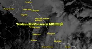Continúa ambiente frío en Veracruz; se espera surada a partir de esta noche