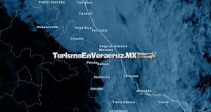 Este martes, domina cielo nublado y lloviznas en la entidad Veracruzana