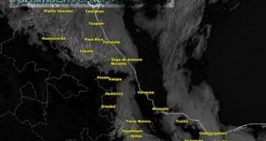 Hoy aumentarán nublados y lluvias en el Estado de Veracruz