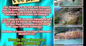 #Excursión a Las Grutas De #Tolatango #Hidlago