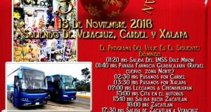 Vamos De #Compras a #Chignahuapan  y #Zacatlán Este 13 De Noviembre 2016