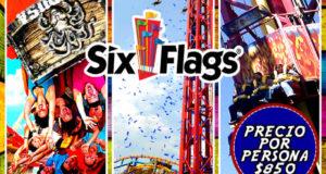 #Excursión a #SixFlags Este 30 De Abril De 2017 Saliendo De #Veracruz y #Xalapa