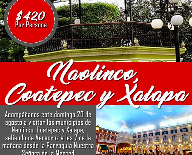 Un Paseo Por #Naolinco #Coatepec y #Xalapa Este 20 De Agosto De 2017