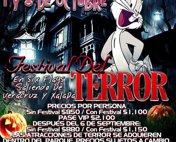 Festival Del #Terror De #SixFlags 2017 Saliendo de #Veracruz #Cardel y #Xalapa