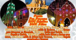 #Excursión a #Cholula y #Atlixco Villa Iluminada 3 De Diciembre 2017