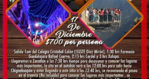 #Excursión a #Atlixco #Chignahuapan y #Zacatlán De Veracruz, Cardel y Xalapa
