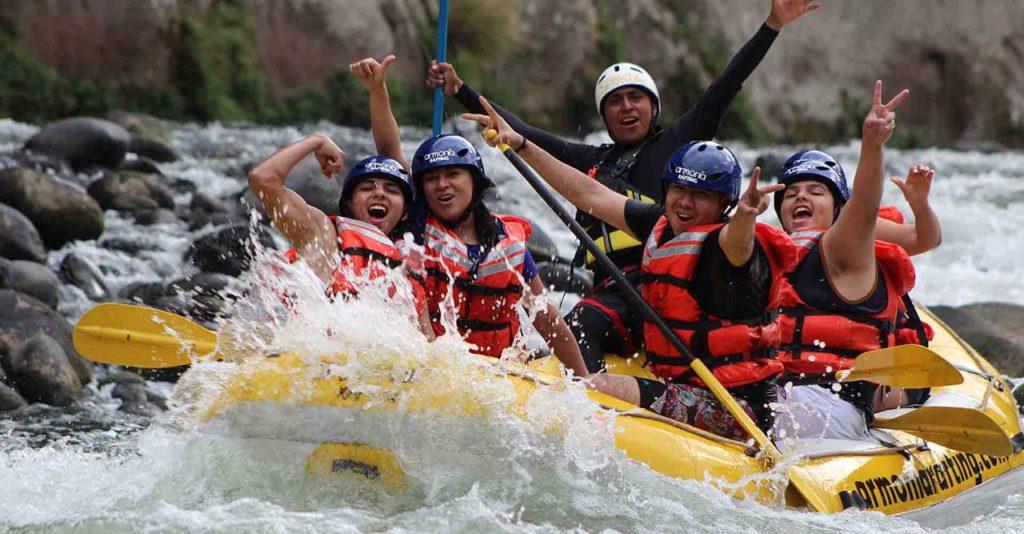 Actividades de aventura en el Río Pescados en Jalcomulco, Veracruz