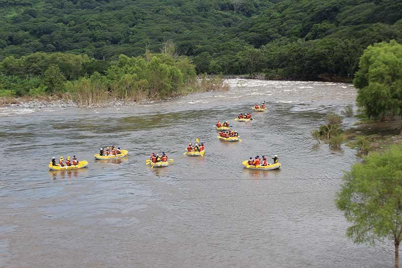 Rápidos del Río Pescados en Jalcomulco Veracruz