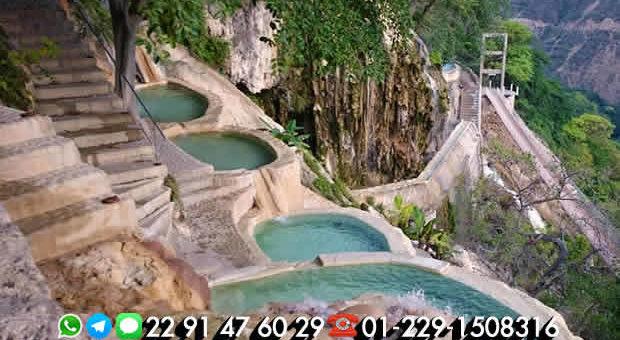 Las grutas de Tolantongo te esperan saliendo de Veracruz