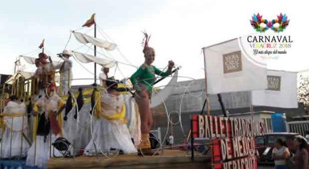 Conoce las fechas y calendario del Carnaval de Veracruz 2019