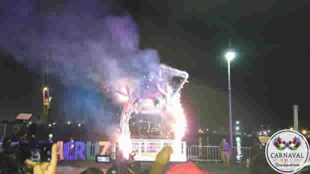 Se realiza la Quema del Mal Humor y arranca el Carnaval de los 500 años