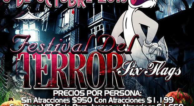 Festival Del Terror 2019 De Six Flags