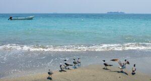 Las playas de Veracruz de color turquesa