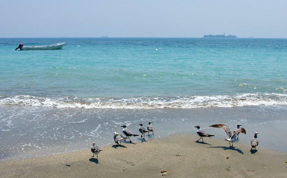 Playas de Veracruz en esta cuarentena
