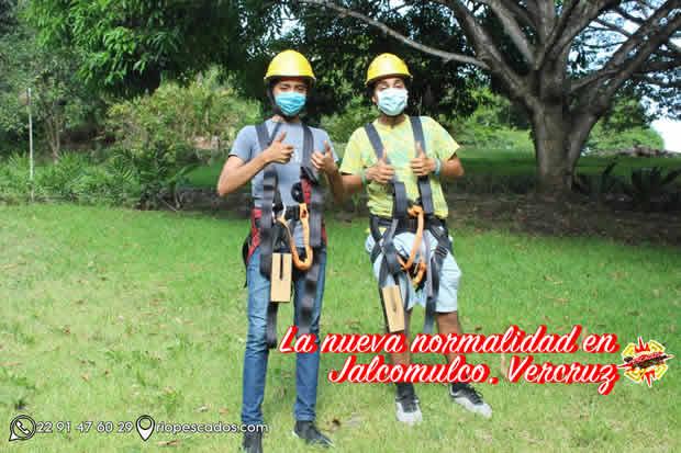 Guías de aventura en Jalcomulco, Veracruz