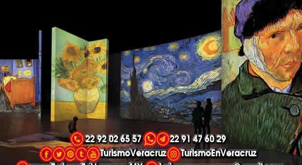 Van Gogh Alive y el centro de la CDMX te esperan